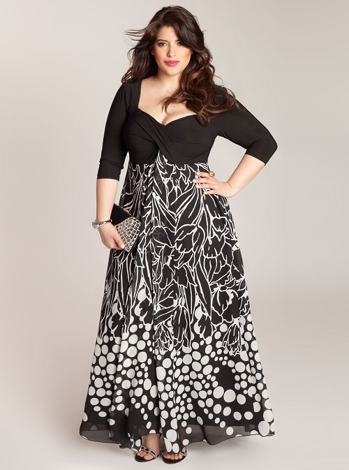 Perfect Best Dresses For Healthy Ladies  Elegant Dresses In All Sizes